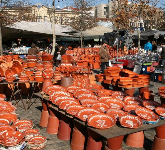 Traditional market in Barcelos
