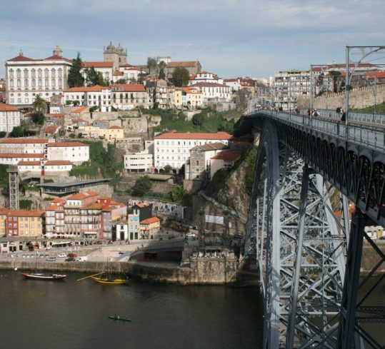 Ribeira and D. Luis bridge