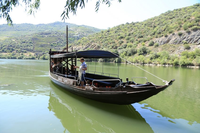 Rabelo boat trip on the River Douro
