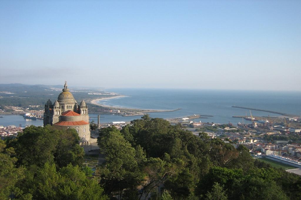 Santa Luzia basilica near Viana do Castelo