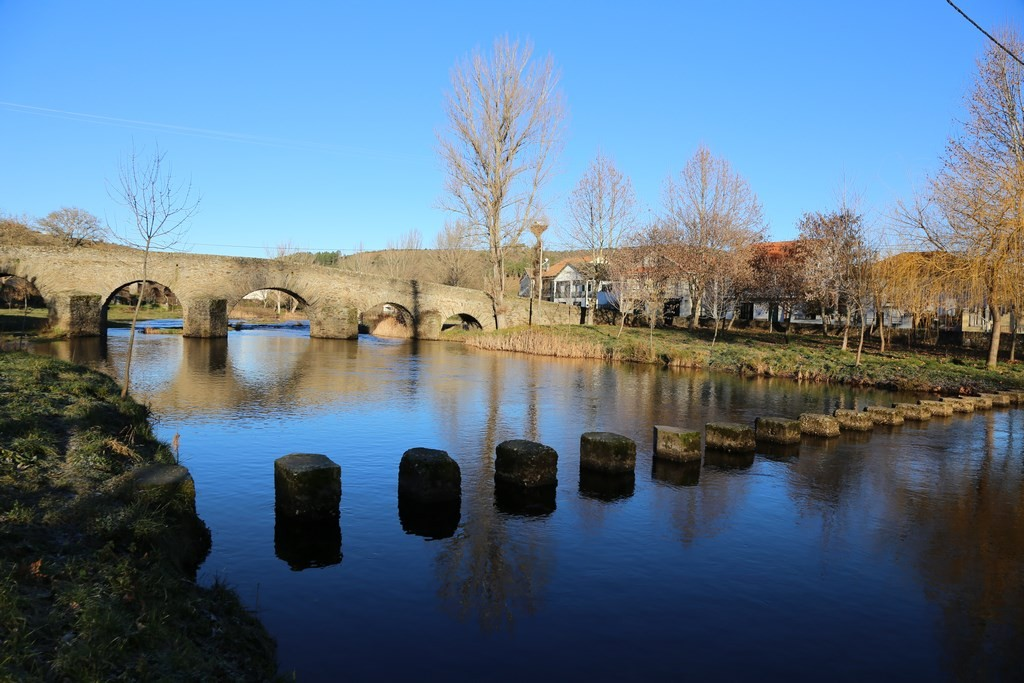 Ancient bridge over the River Malara in Gimonde