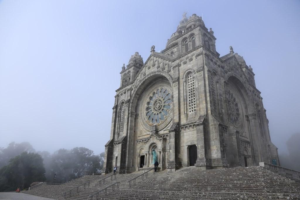 Santa Luzia basilica, Viana do Castelo, Minho region, Portugal