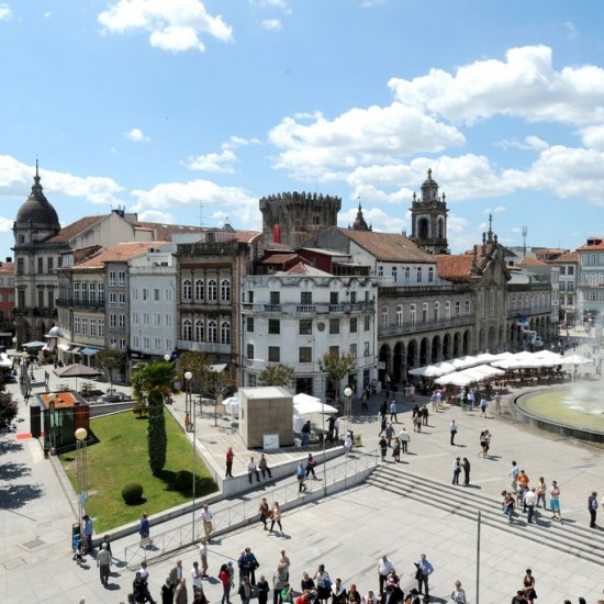 Historical centre of Braga (Photo by Sérgio Freitas)