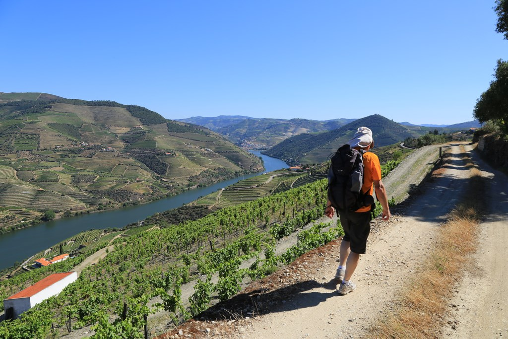 Walking in the Douro Valley, one of the World Heritage Sites in Northern Portugal