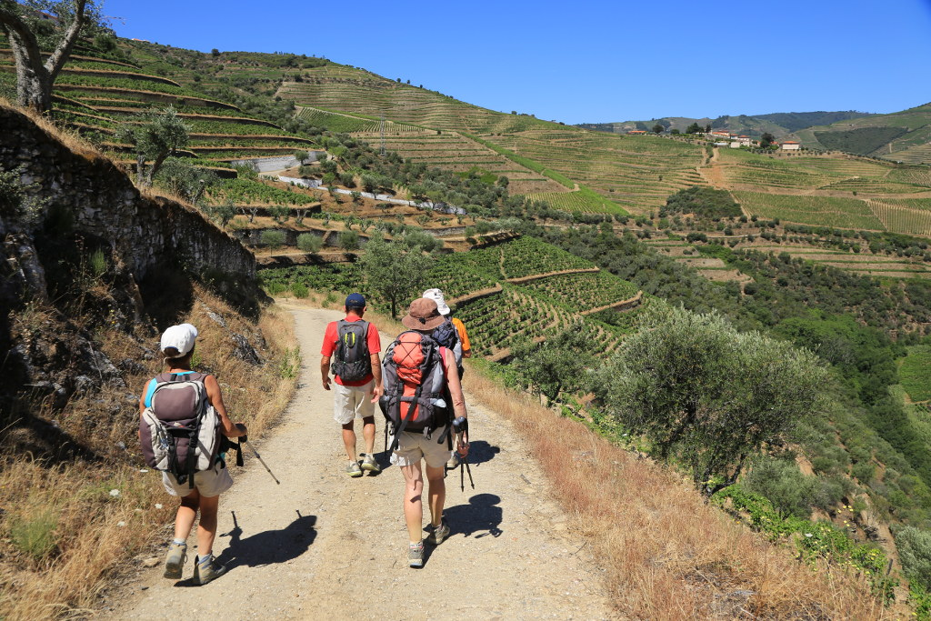 Hiking in the Douro Wine region